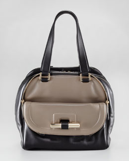 Jimmy Choo Justine Colorblock Handbag