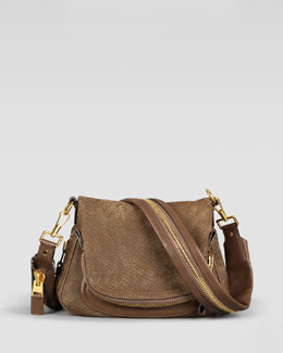 Tom Ford Small Peccary Jennifer Messenger Bag