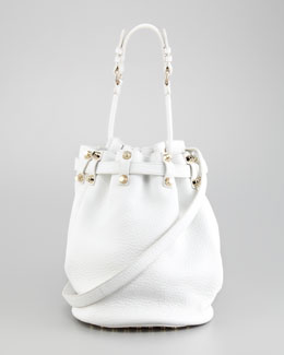 Alexander Wang Diego Bucket Bag, Peroxide/Yellow Golden