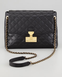 Marc Jacobs Baroque Single Extra-Large Bag, Black