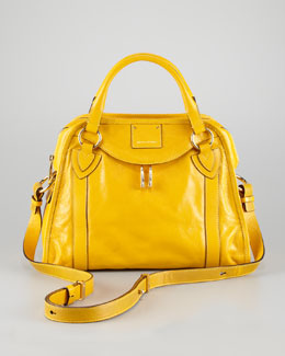 Marc Jacobs Classic Wellington Satchel Bag,  Yellow