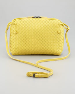 Bottega Veneta Veneta Small Crossbody Bag, Yellow