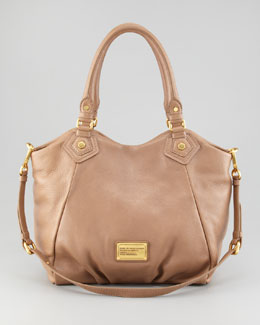 MARC by Marc Jacobs Classic Q Francesca Satchel Bag, Praline