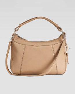 Cole Haan Linley Small Rounded Hobo Bag, Sandstone