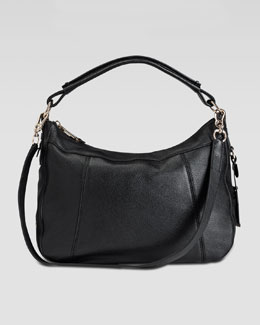 Cole Haan Linley Small Rounded Hobo Bag, Black