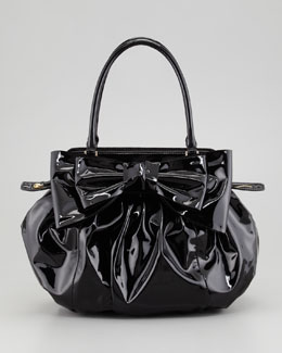 Valentino Double-Handle Lacca Hobo