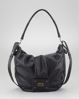 See by Chloe Maya Hobo Bag, Black