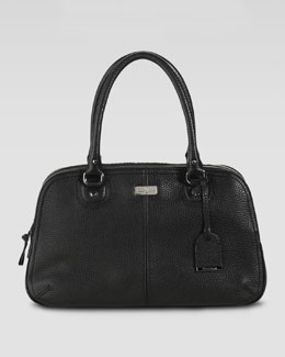 Cole Haan Village Satchel Bag, Black