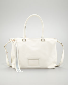 See by Chloe Alix East-West Double Function Bag, Off-White