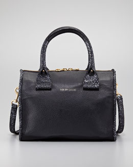 See by Chloe April Small Duffel Bag, Black