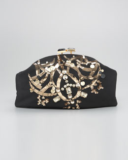 Marni Bejeweled Clutch Bag