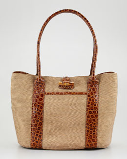 Eric Javits Field Shopper Tote Bag
