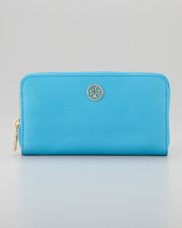 Tory Burch Robinson Continental Wallet