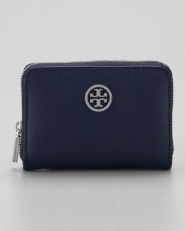 Tory Burch Robinson Zip Coin Purse