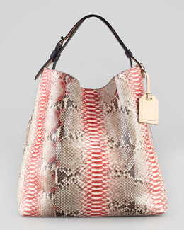 Reed Krakoff RDK Painted Python Hobo Bag, Multicolor