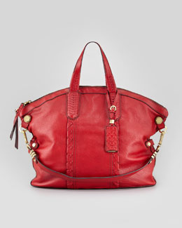 Oryany Cassie Convertible Tote Bag, Scarlet Red