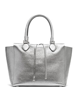 Michael Kors  Large Miranda Metallic Tote