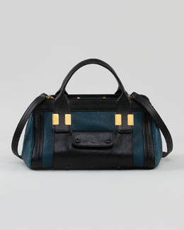 Chloe Alice Small Satchel Bag, Teal