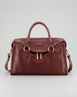 Marc Jacobs Fulton Large Satchel Bag, Tan