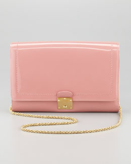 Marc Jacobs 1984 Patent Leather All in One Clutch Bag, Rose