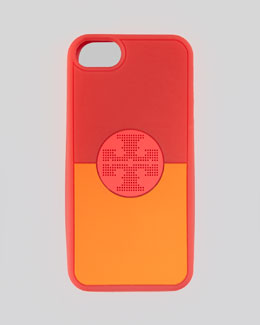 Tory Burch Viva Silicone iPhone 5 Case, Red Koi Multi