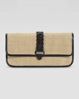 Cole Haan Bedford Izzie Clutch Bag, Natural/Black
