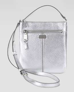 Cole Haan Village Swingpack Crossbody Bag, Silver