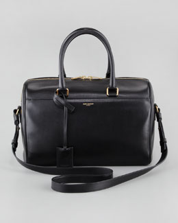 Saint Laurent Small Duffel Saint Laurent Bag, Black