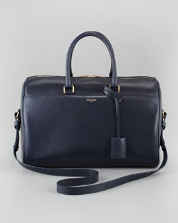 Saint Laurent Large Duffle 12, Dark Blue