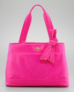 kate spade new york flatiron maryanne tote bag, pink