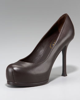 Yves Saint Laurent Iconic Double-Platform Pump