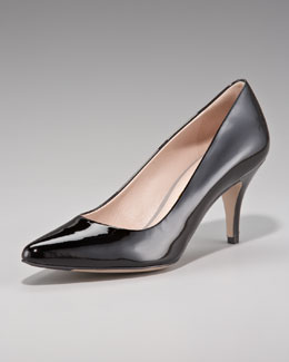 Salvatore Ferragamo Dalia Pointed-Toe Pump