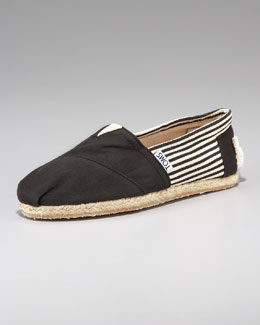 TOMS University Slip-On, Black