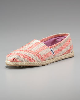 TOMS Beacon Striped Espadrille Slip-On