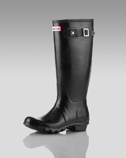 Hunter Boot Original Welly Boot, Black