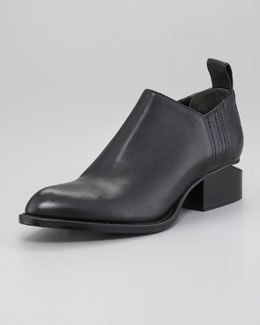 Alexander Wang Kori Tumbled Leather Oxford