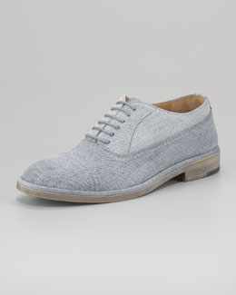 Maison Martin Margiela Denim Lace-Up Oxford