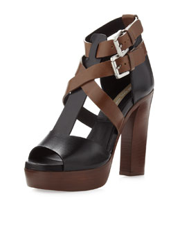Michael Kors Colorblock Sandal