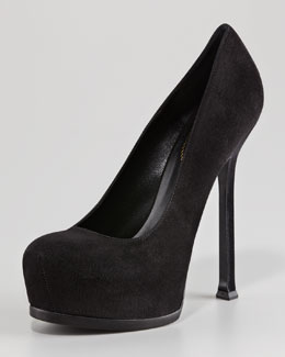 Yves Saint Laurent Tribtoo Suede Pump