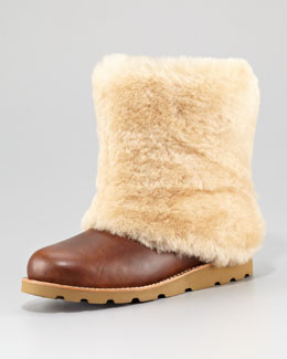 UGG Australia Maylin Shearling Leather Boot