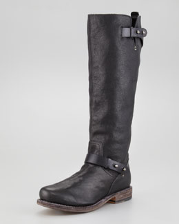 Rag & Bone Knee-High Moto Boot