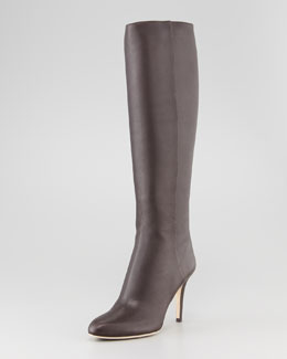 Jimmy Choo Grand Leather Boot, Brown