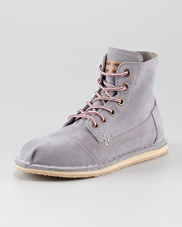 TOMS Tomboy Lace-Up Flat Boot