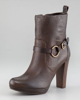 Henry Beguelin Platform Ankle Boot