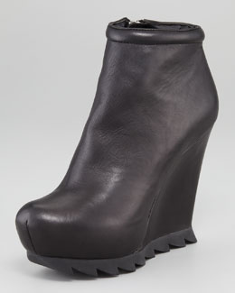 Camilla Skovgaard Saw-Sole Wedge Bootie