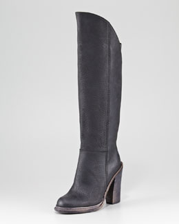 Vera Wang Lavender Keagan High-Front Boot