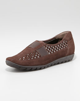 Sesto Meucci Jaylene Woven Leather Loafer