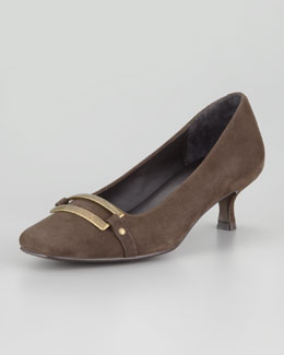 Donald J Pliner Suri Ornament Low-Heel Pump