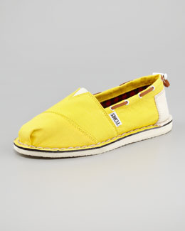 TOMS Bimini Boat Shoe, Yellow