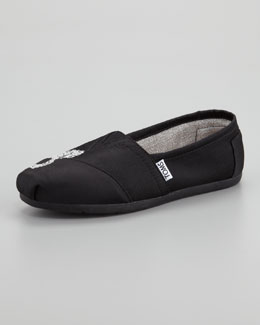 TOMS Touch Butterfly Slip-On